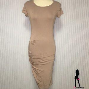 April Spirit Dresses - Blush Color Bodycon Dress